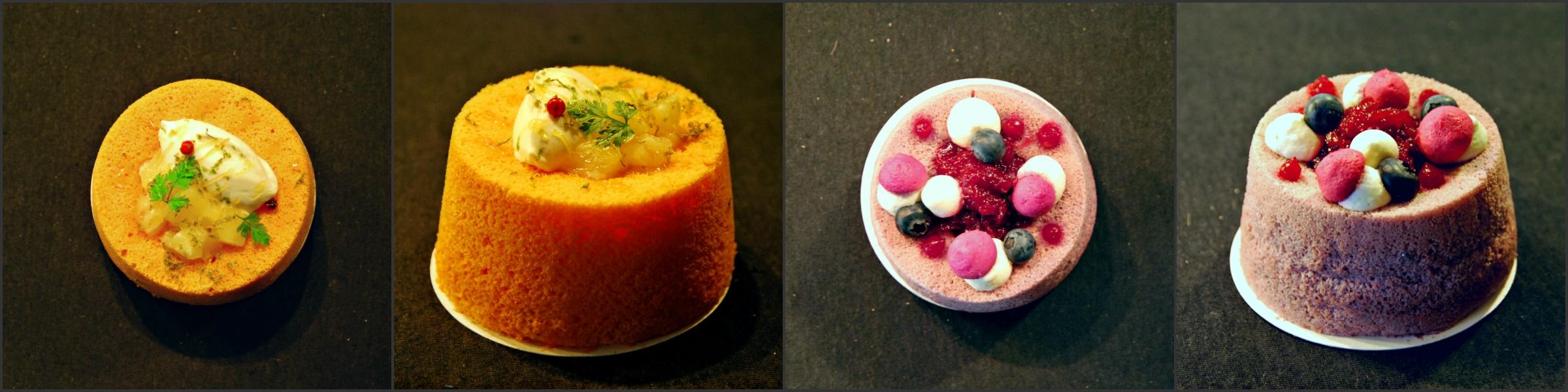 Angel Cake Fruits Rouges