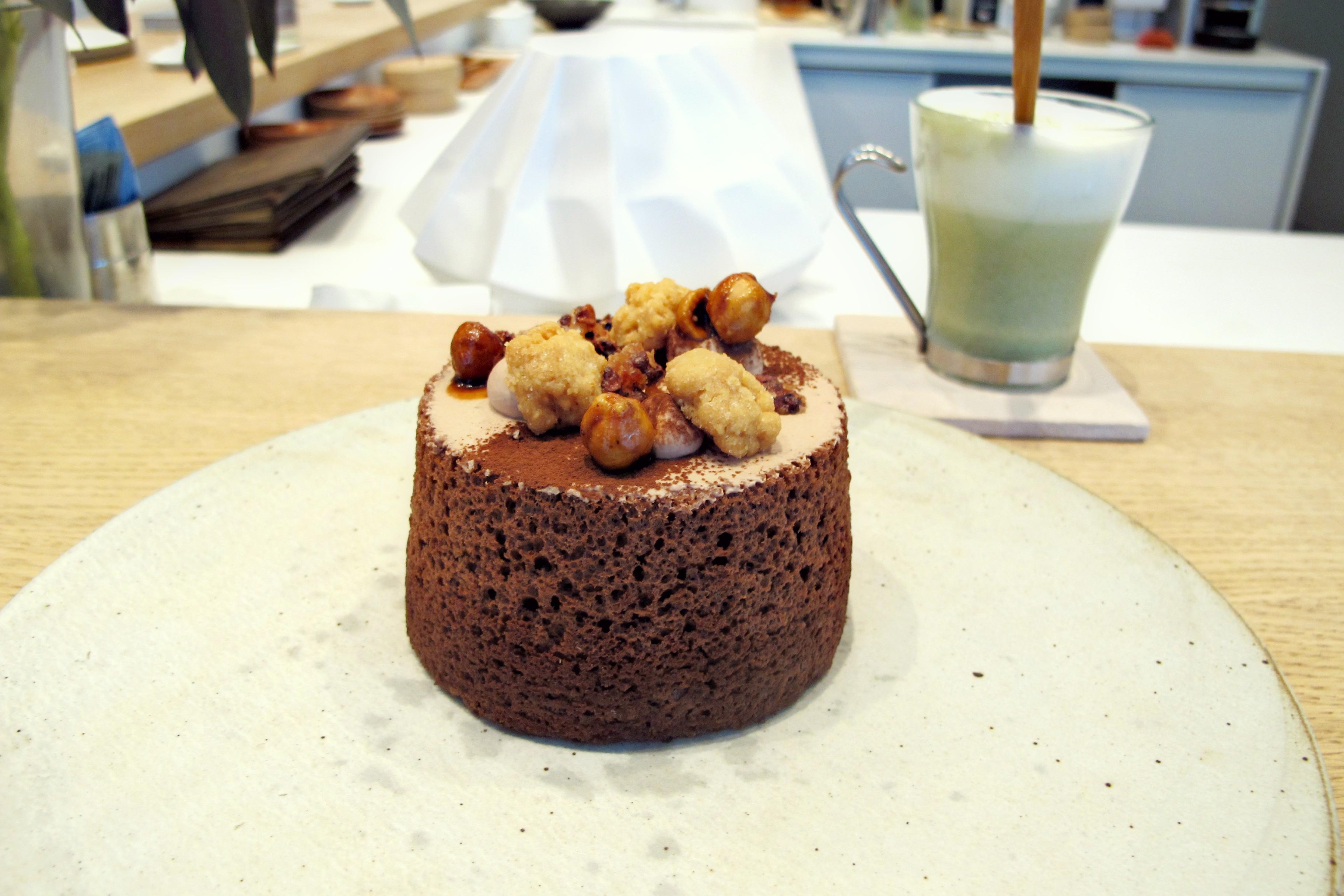 Chocolate Chiffon Cake Japanese