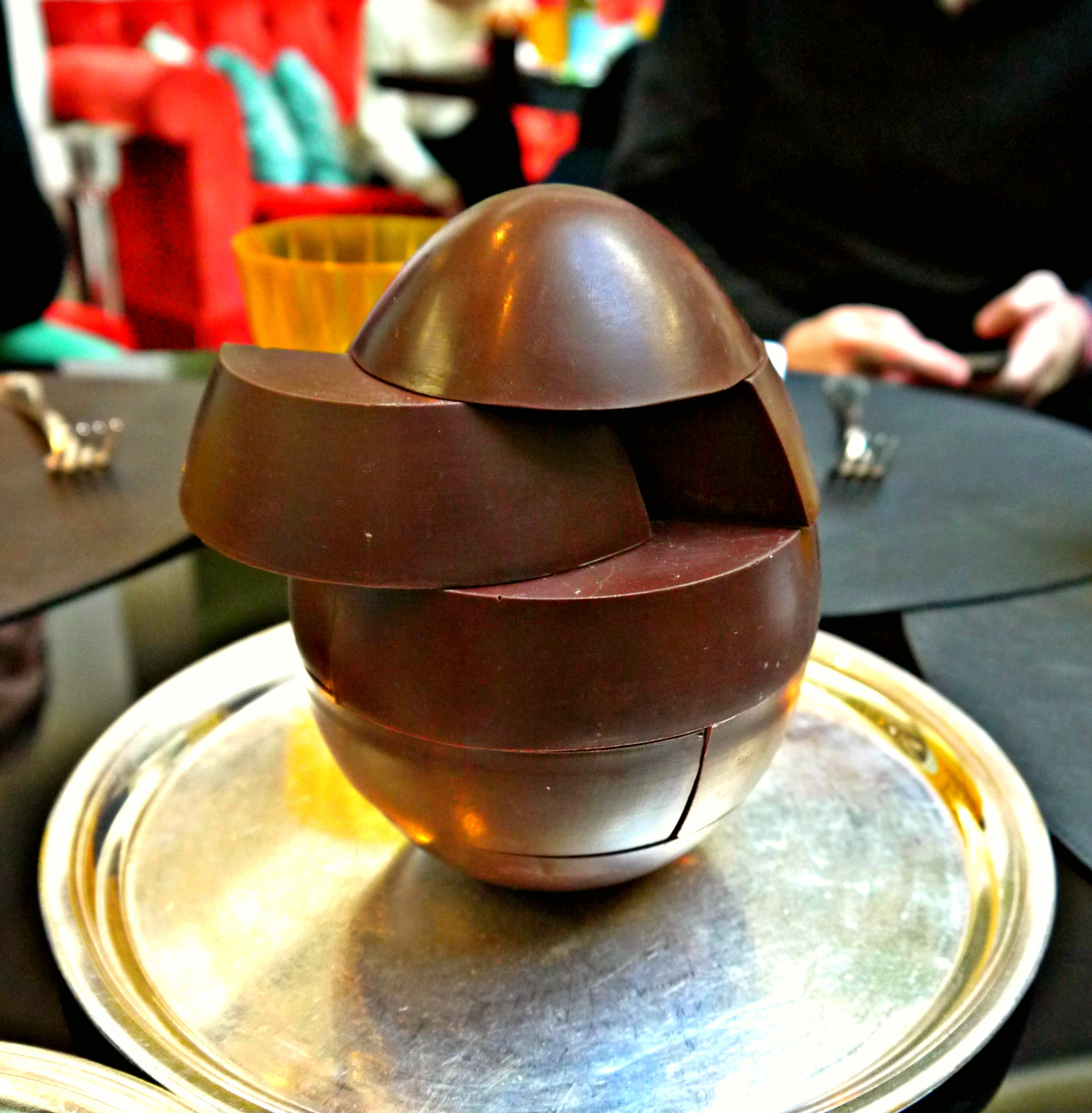 Easter Puzzle Chocolate Egg By Fran Ois Perret P Ques